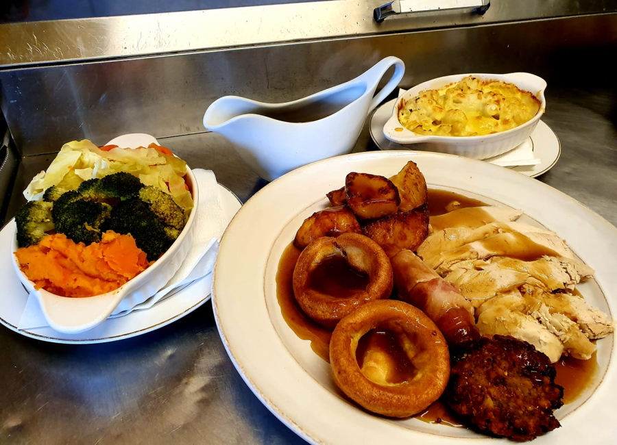 Sunday Roast at the Riverbank Cafe Radstock